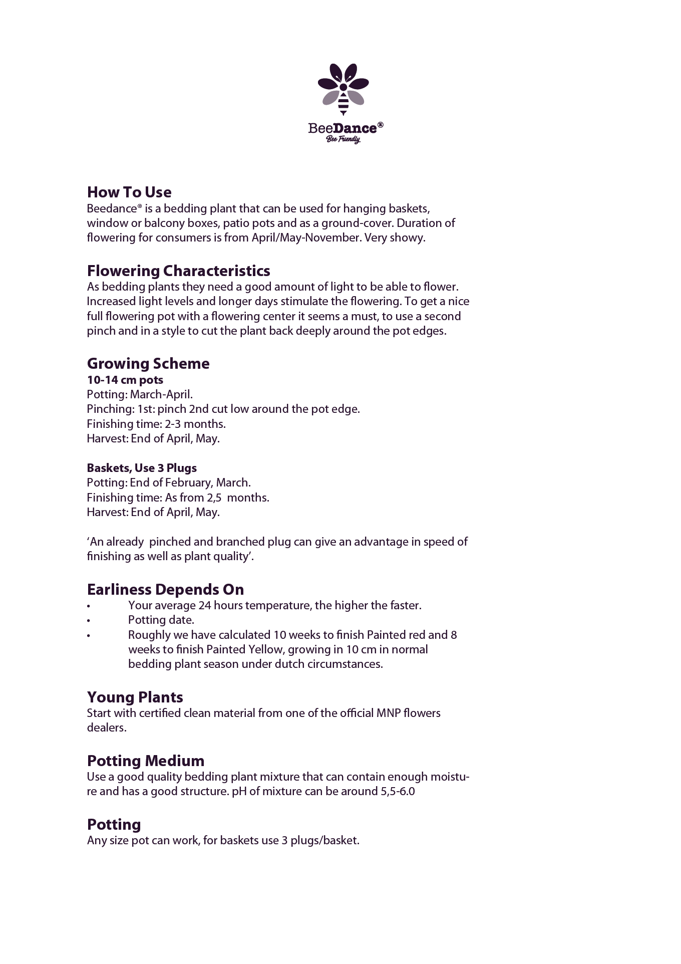 beedance cultural info